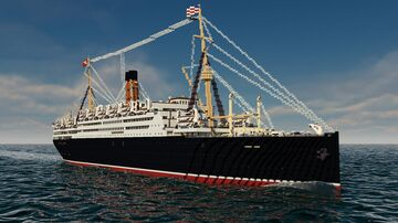 RMS Franconia 1923 Minecraft Map & Project