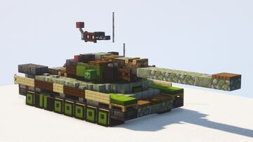IS-4 heavy tank (Object 701) - 1.5:1 scale Minecraft Map & Project