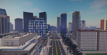 Los Angeles Map Video On YouTube Minecraft Map & Project