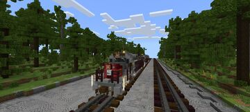 Southern pacific sd40t-2 Minecraft Map & Project