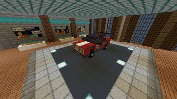 Custom Car #2 Minecraft Map & Project