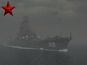 Battlecruiser Kirov [Project 1144 Orlan] Minecraft Map & Project