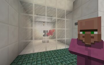 Villager torture/experimentation centre Minecraft Map & Project