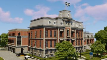 Okanessa courthouse | ERT Minecraft Map & Project