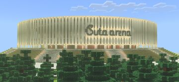 """""""Buta Arena"""" Sports & Event hall Minecraft Map & Project"""