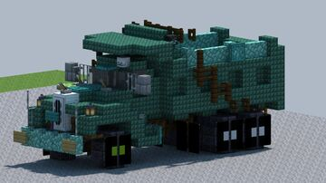 Mack B61 dump truck [With Download] Minecraft Map & Project