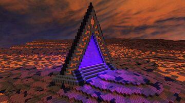 Arcane Nether Portal +Tutorial Minecraft Map & Project