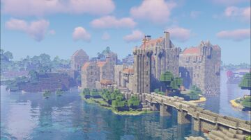 Red Castle updated version 2.0 Minecraft Map & Project