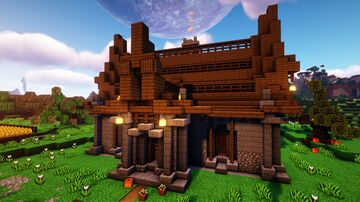 How to build a Survival House // Design 2 Minecraft Map & Project
