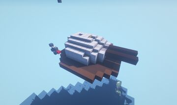HST - Adjustable arc super-heavy TNT Cannon Turret Minecraft Map & Project