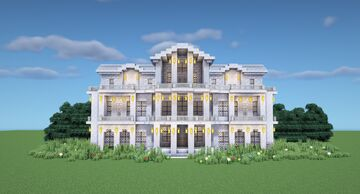 Marble Mansion Minecraft Map & Project
