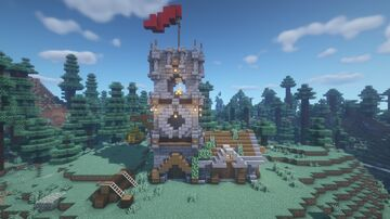 Minecraft Medieval House Minecraft Map & Project