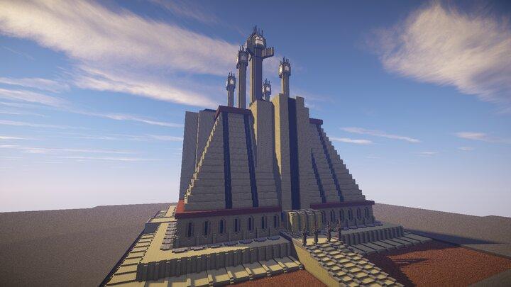 The sacred Jedi Temple