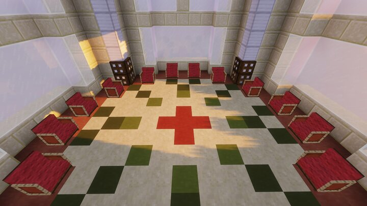 The sacred High jedi Council chamber