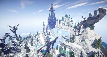 Frozen Hub/Lobby Map [Organics] Minecraft Map & Project
