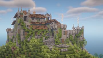Ruined Castle Minecraft Map & Project