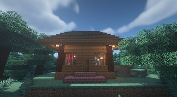 Cottage Minecraft Map & Project