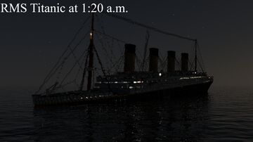 RMS Titanic at 1:20 a.m. (15th April 1912) (With Music) Minecraft Map & Project