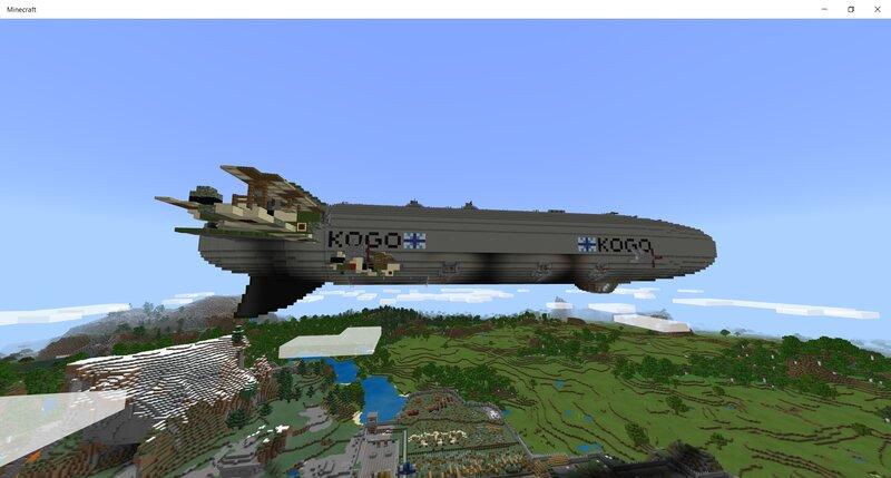 Kogo, Light Carrier Zeppelin