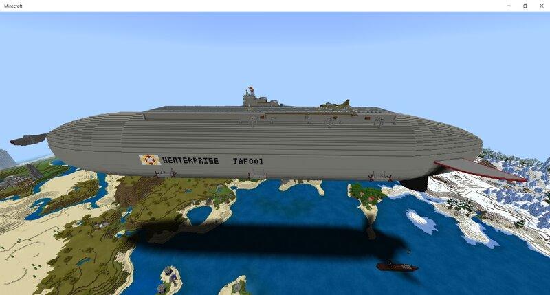 Henterprise, Heavy Carrier Zeppelin, Unfinished