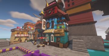 Cozyshop update and interior Minecraft Map & Project
