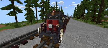 Southern pacific B39-8 Minecraft Map & Project