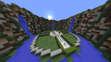Small Spawn / Lobby / Hub for Survival, Skyblock, SkyWars, BedWars, LuckyWars, Anarchy, Prison Map Free Download Minecraft Map & Project