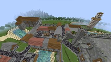 Medieval Roleplay Map 1.16.5 Minecraft Map & Project