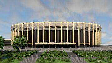 Soviet Sports arena Minecraft Map & Project