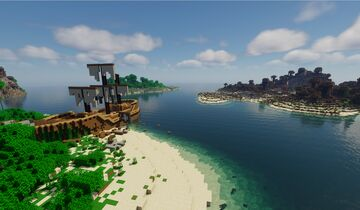 Tropical Survival Islands Minecraft Map & Project