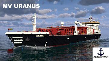 LPG Tanker MV Uranus [Full Interior] + DOWNLOAD Minecraft Map & Project