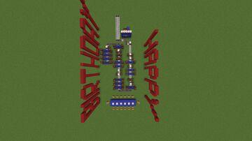 Happy Birthday Minecraft Map & Project