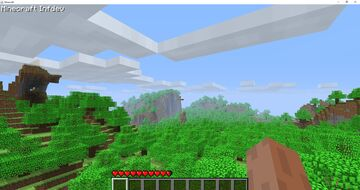 Infdev Forest World Minecraft Map & Project