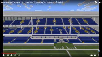 Estádio  - Goodison Park (Everton FC) Minecraft Map & Project