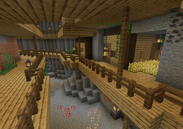 sous terre (underground) v1.2 Minecraft Map & Project