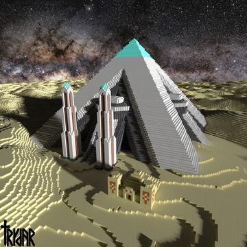 Pyramid +tutorial Minecraft Map & Project
