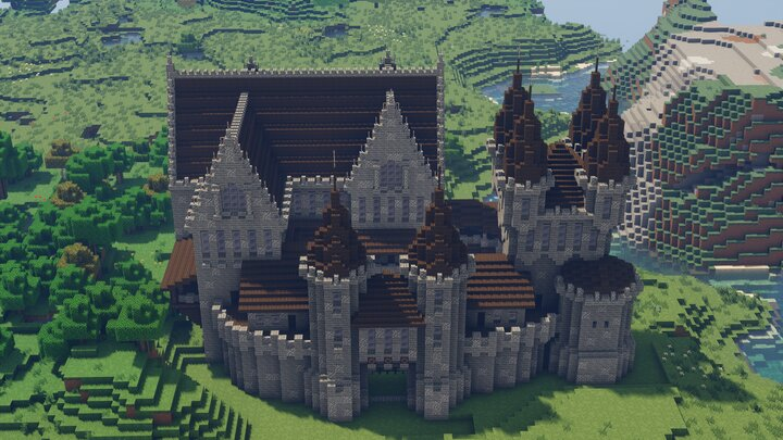 Welcome To Bellbroke Castle! This castle is home to KingCreeper737 The First. Built By KingCreeper737.