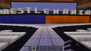 WWE Wrestlemania 28 Minecraft Map & Project