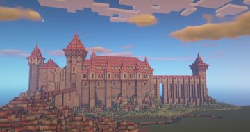 Corvin Castle Minecraft Map & Project