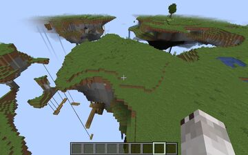 sky worlds Minecraft Map & Project