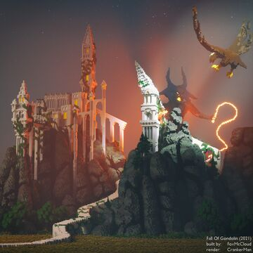 The Fall of Gondolin Minecraft Map & Project