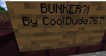 Bunker?! A Mc Tycoon Map Minecraft Map & Project