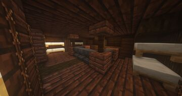 Kovian Galleon, Medieval Ship, the Exalted Minecraft Map & Project