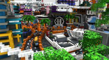 SwagCity spawn Minecraft Map & Project
