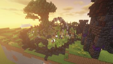 Dark Ruins Panda Sanctuary - [World Download] Minecraft Map & Project
