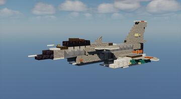 J-10 Vigorous Dragon - 1.5:1 Scale Minecraft Map & Project
