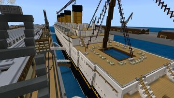 RMS Westland (1921) Minecraft Map & Project