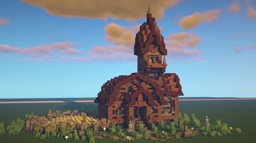 Rustic Farm House [DOWNLOAD] Minecraft Map & Project