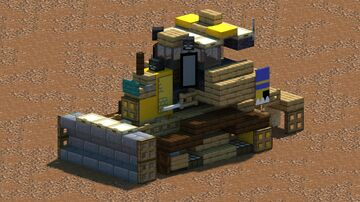 Komatsu D61EXi-24 Dozer [With Download] Minecraft Map & Project
