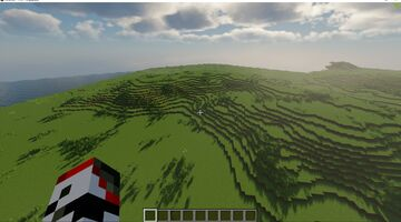 WorldPainter Hill Brushes Minecraft Map & Project